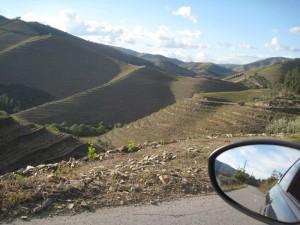 Vakantie Portugal - autospiegel
