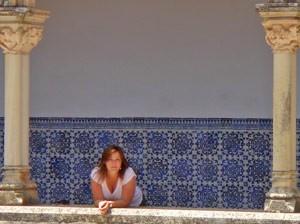 portugal reiziger mozaik