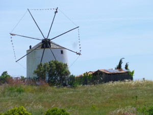 portugal windmolen