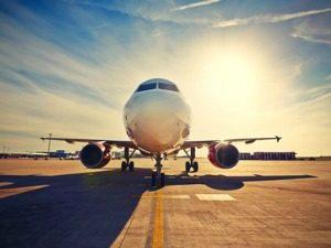 Vliegen vliegtuig Portugal reizen