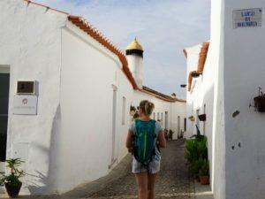 Dorp Alentejo straatje Portugal