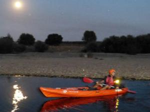 nacht kayakken