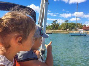 Portugal familiereis met kinderen - boottrip