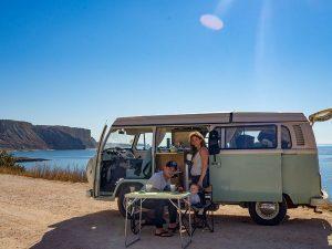 Portugal met kinderen volkswagenbusje